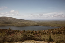 View Of Jordan Pond From Cadil...