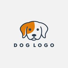 Dog Logo Design Template Vecto...
