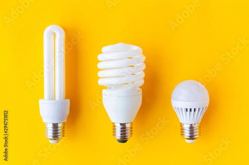 Fotomural  Energy saving light