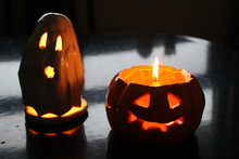 Halloween Candlelights In Shap...