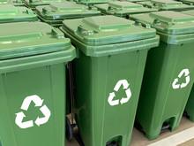 Recycle Bin Yellow Blue Green ...