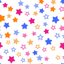 Stars In Different Shapes And ...