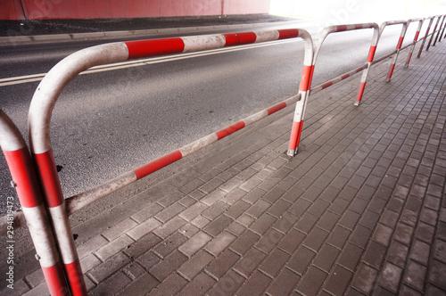 Photo Metal barrier