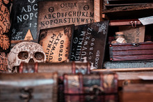 Talking Board And Planchette, ...