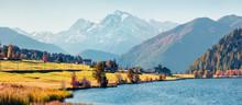 Panoramic Autumn Scene Of Haid...