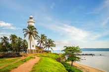 Galle Lighthouse And Coast In ...