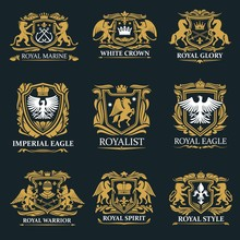 Royal Crown Heraldry, Coat Of ...
