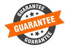 Guarantee Sign. Guarantee Oran...