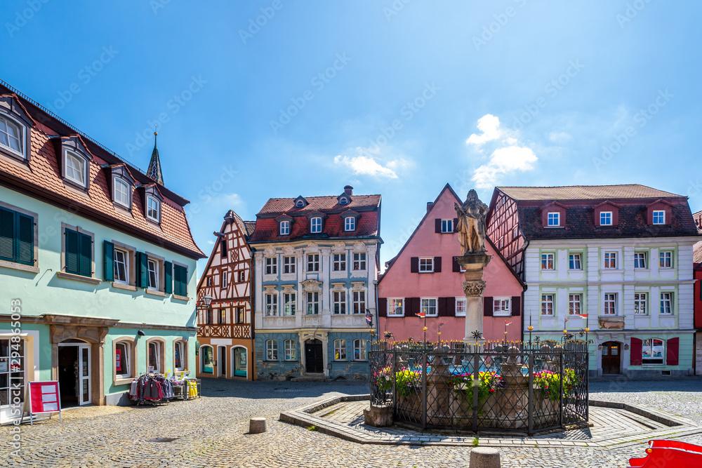 Fototapeta Altstadt von Bay Windsheim, Bayern, Deutschland
