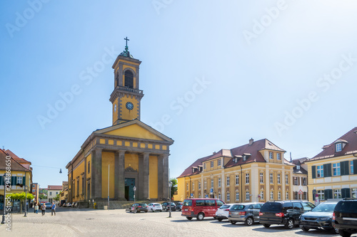 Foto Sankt Ludwig Kirche, Ansbach, Bayern, Deutschland