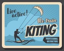 Kiteboarding Extreme Water Spo...