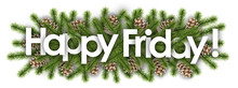 Happy Friday In Christmas Back...