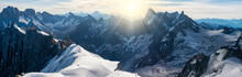 Panorama Of Mont Blanc Massif,...