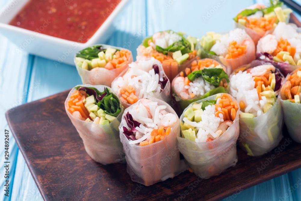 Fototapety, obrazy: Vietnamese spring rolls