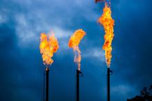 Quema De Gas Licuado De Petroleo