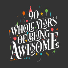 90th Birthday And 90th Wedding...