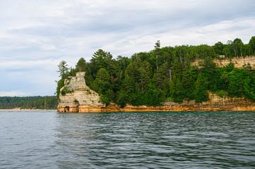 Fototapeta na wymiar Pictured Rocks National Lakeshore
