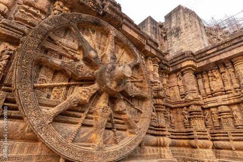 Fényképezés The Kornak Sun temple in India