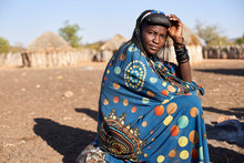 Portrait Of A Muhacaona Woman ...