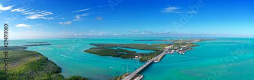 Valokuvatapetti Islamorada Overseas Highway The Keys, Florida