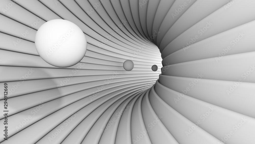 Fototapeta Bullets in the tunel