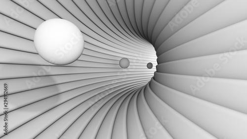 Fototapeta Bullets in the tunel obraz