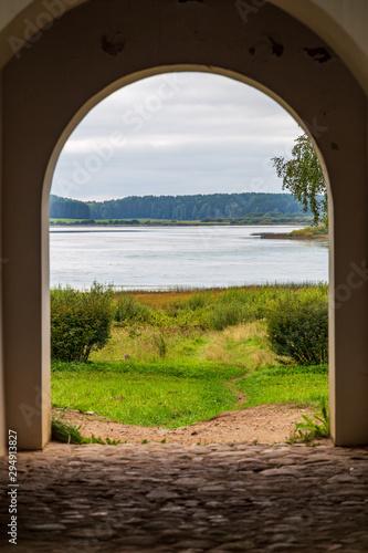 Valokuvatapetti view from the window