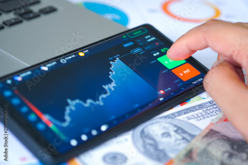 Foto  Business and Financial Concept