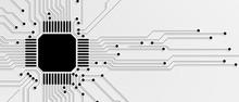 Abstract Circuit Board Futuris...