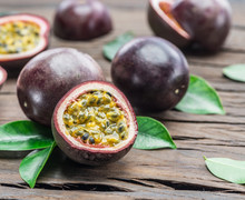 Passion Fruits And Its Cross S...