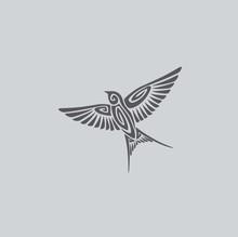 Bird Swallow Logo
