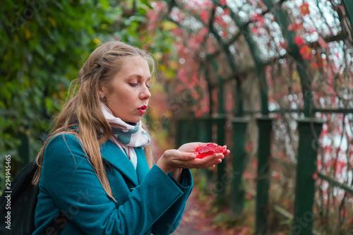 Fotografia  Autumn and a walk in the fresh air