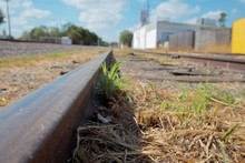 Abandoned Train Tracks In The ...
