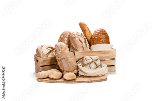 Fototapeta Fresh bread composition obraz