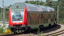 German Regional Train To Munich