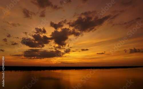 sunset on sea, sunset, sky, water, sun, sunrise, nature, landscape, sea, clouds, lake, cloud, orange, dusk,evening, reflection, dawn, river, beautiful, summer, beauty, view, calm
