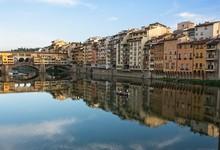 Florentine Buildings Reflected...