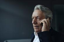 Portrait Of A Senior Businessm...