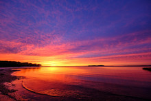 Sunset Scene Long Island Hamptons