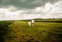 Wedding Couple Back To Back Wa...