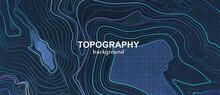Topography Contour Terrain. Li...