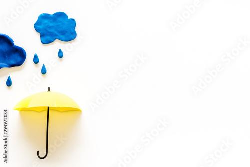 Papel de parede Storm concept, bad weather