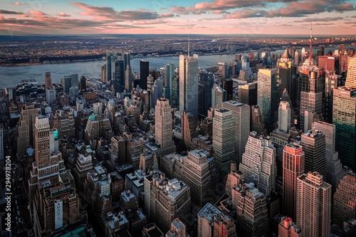 Fototapeta 뉴욕 스카이라인 obraz