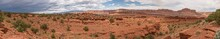 Capitol Reef National Park Near Sunset Point Panoramic
