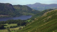 Zoomed In View Of Thirlmere On...