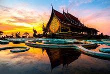 Amazing Temple Sirindhorn Wara...
