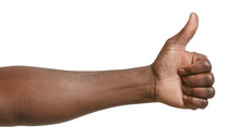 Hand Of African-American Man S...