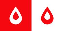 Logotipo Con Gota De Sangre Co...