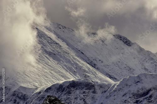 Fototapeta Polish mountains Tatry,  Jesien w Tatrach obraz
