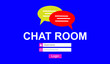 canvas print picture - Concept of chat room